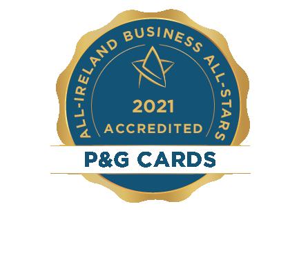 P&G Cards Ltd - Business All-Stars Accreditation