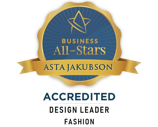 Asta Jakubson - Asta Fashions - Business All-Stars Accreditation