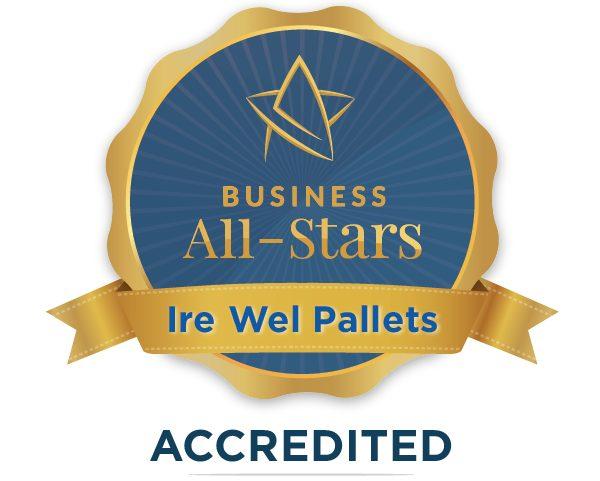 Ire Wel Pallets Ltd - Business All-Stars Accreditation