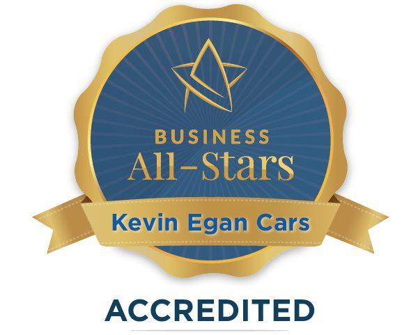 Kevin Egan - Kevin Egan Cars - Business All-Stars Accreditation