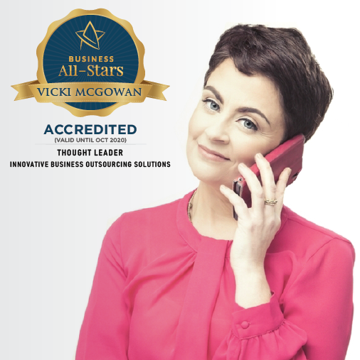 Vicki McGowan - Outsource2day  - Business All-Stars Accreditation
