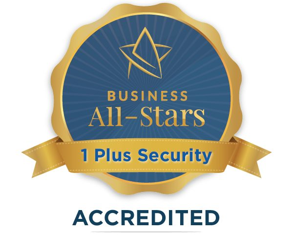 1 Plus Security - Business All-Stars Accreditation