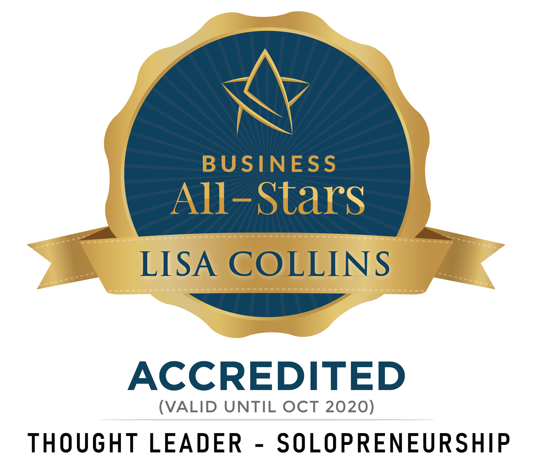 Lisa Collins - Wax It Lounge - Business All-Stars Accreditation