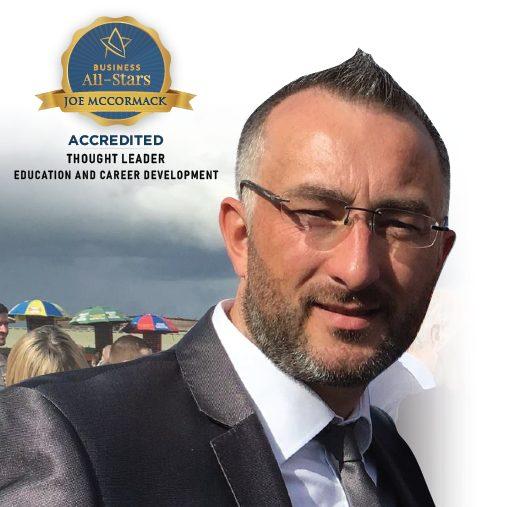 Joe McCormack - ACE Solution Books - Business All-Stars Accreditation