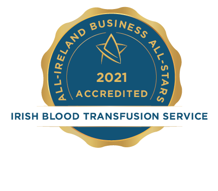 Irish Blood Transfusion Service - Business All-Stars Accreditation