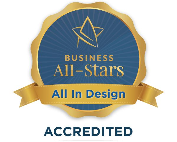 All In Design & Print - Business All-Stars Accreditation