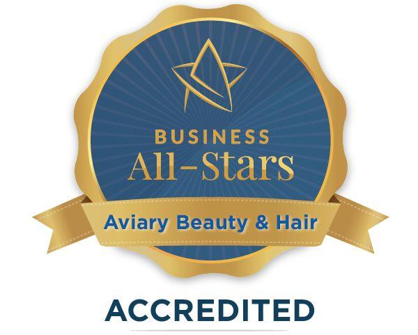 Aviary Beauty & Hair - Business All-Stars Accreditation