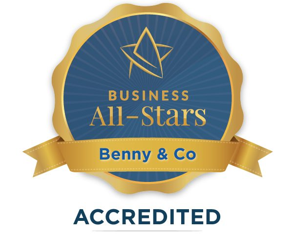 Benny & Co - Business All-Stars Accreditation