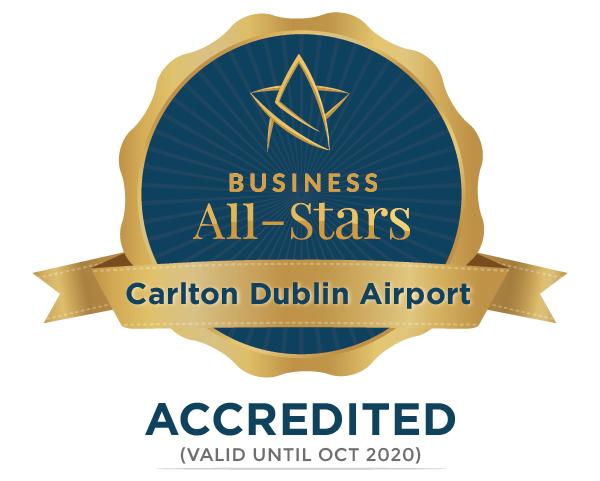 Carlton Dublin Airport - Business All-Stars Accreditation