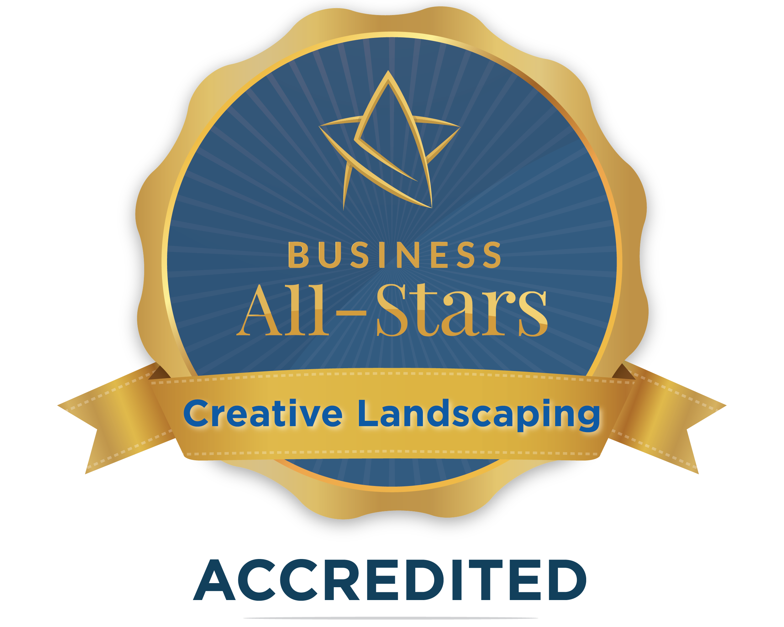 Creative Landscaping Works - Business All-Stars Accreditation