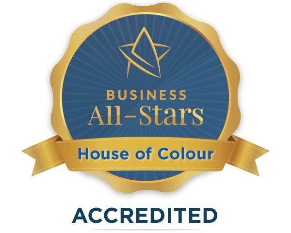 House of Colour - Business All-Stars Accreditation