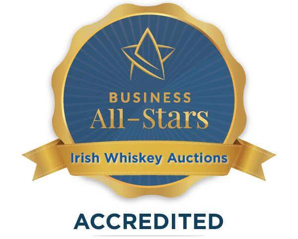 Irish Whiskey Auctions - Business All-Stars Accreditation