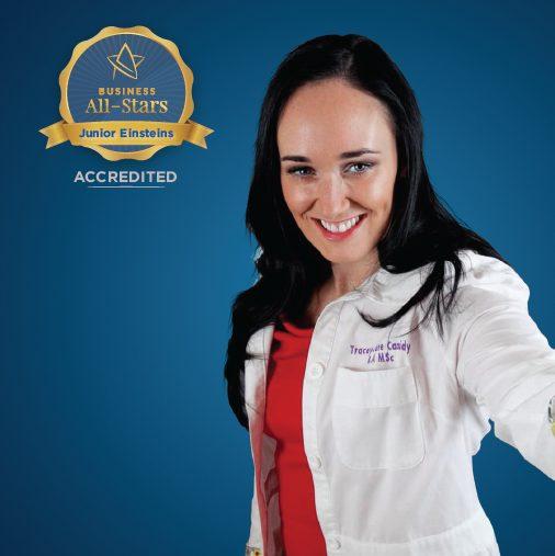 Junior Einsteins Science Club - Business All-Stars Accreditation
