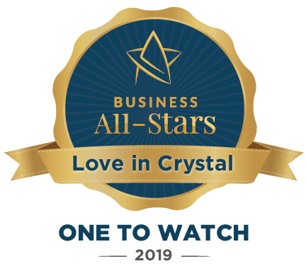 Love in Crystal - Business All-Stars Accreditation