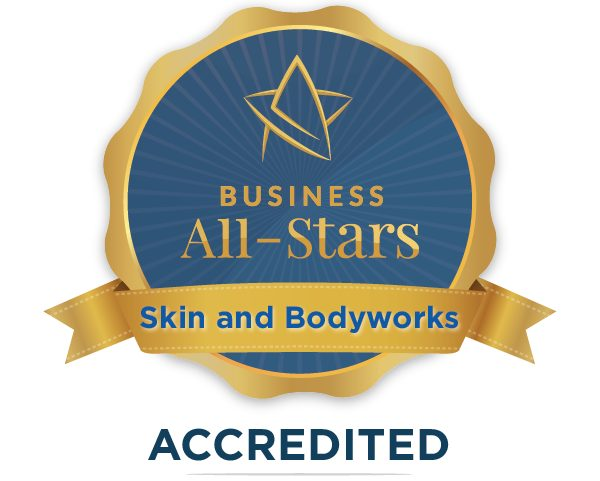 Skin and Bodyworks - Business All-Stars Accreditation