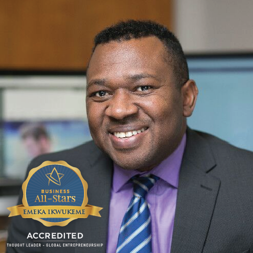 Emeka Ikwukeme - Taxgoglobal Ltd - Business All-Stars Accreditation