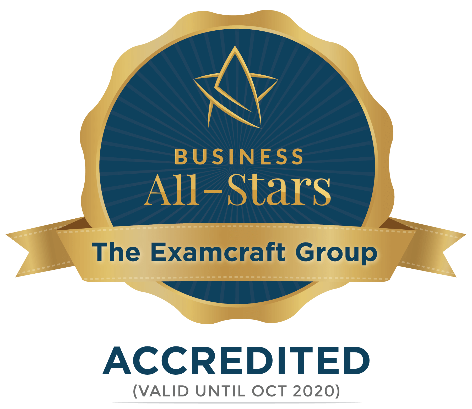 The Examcraft Group - Business All-Stars Accreditation