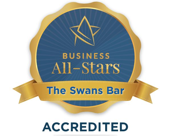 The Swans Bar - Business All-Stars Accreditation