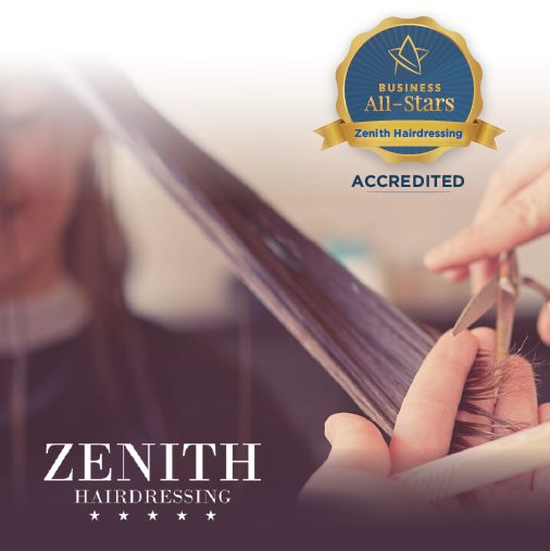 Zenith Hairdressing Claregalway - Business All-Stars Accreditation