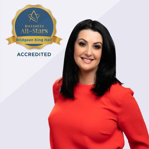 Bridgeen King Hair Dressing Hair Loss Clinic - Business All-Stars Accreditation