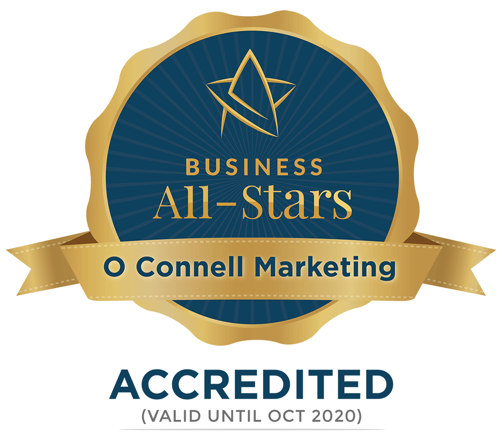O Connell Marketing  - Business All-Stars Accreditation