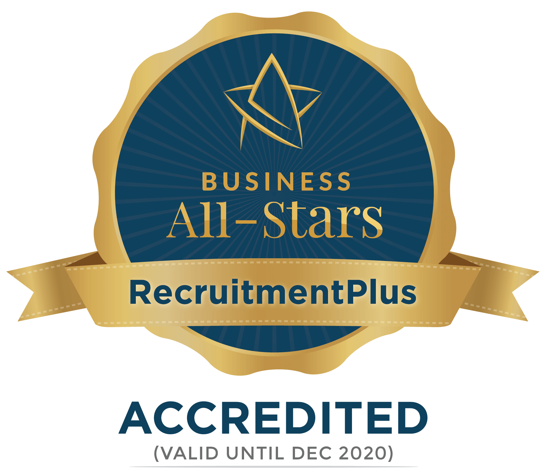 RecruitmentPlus - Business All-Stars Accreditation