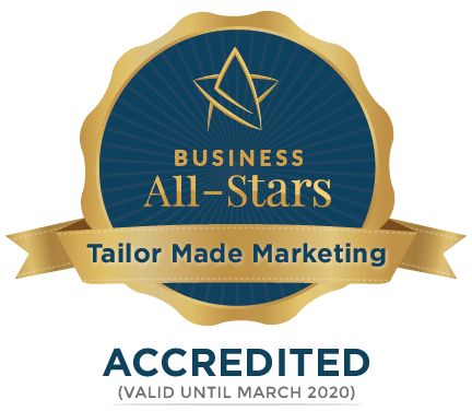 Tailor Made Marketing - Business All-Stars Accreditation