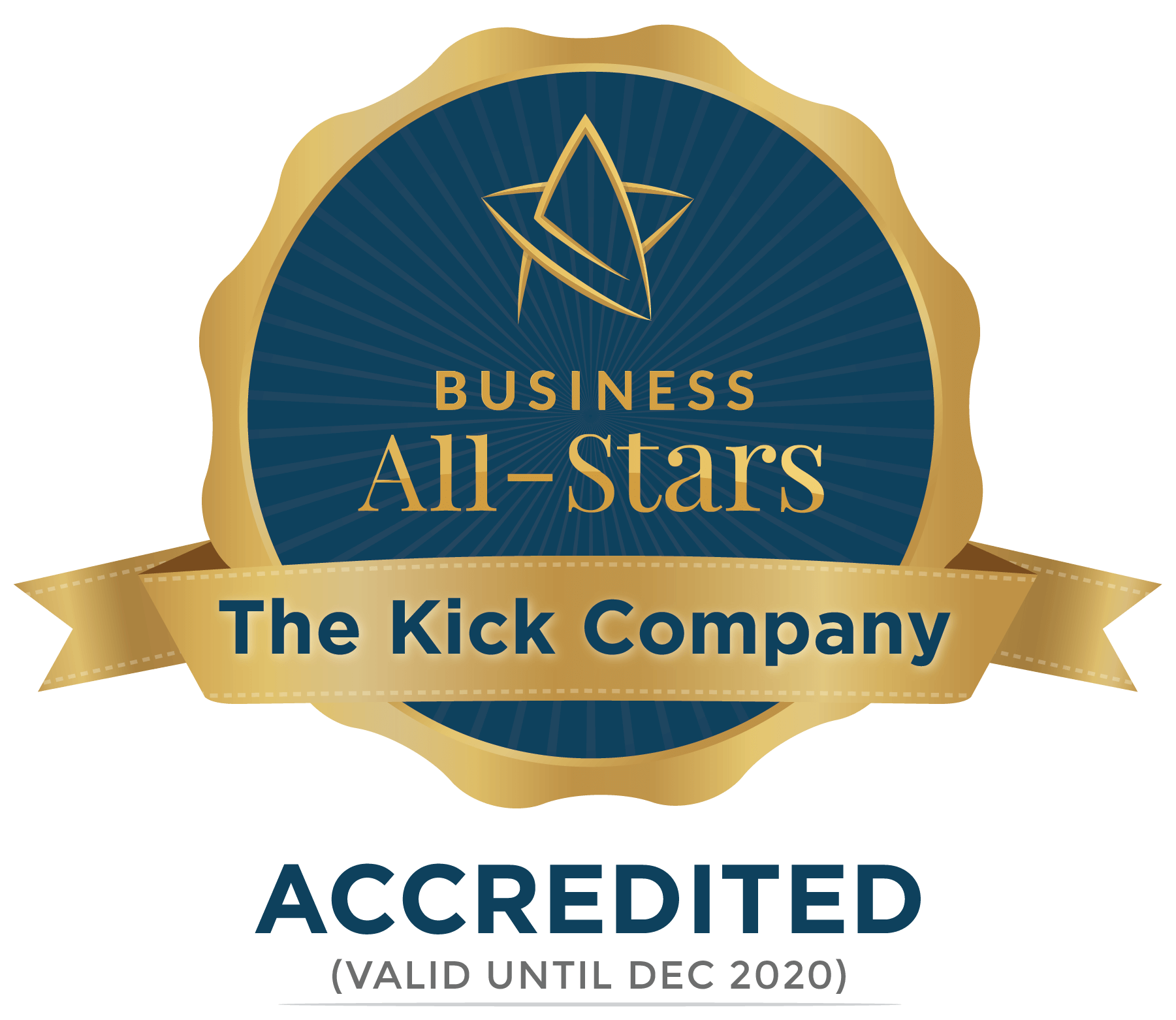 The Kick Company - Business All-Stars Accreditation