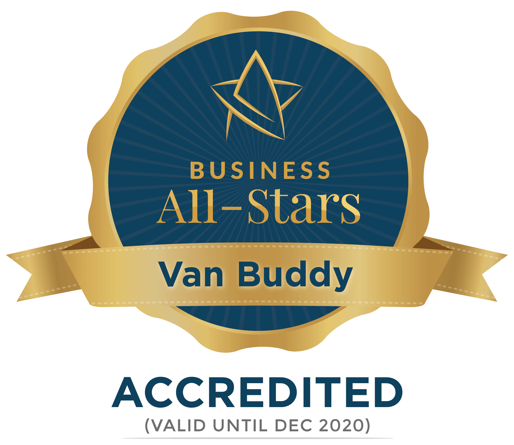 Van Buddy - Business All-Stars Accreditation