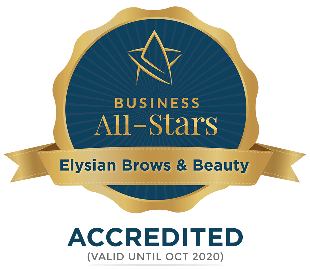 Elysian Brows & Beauty - Business All-Stars Accreditation