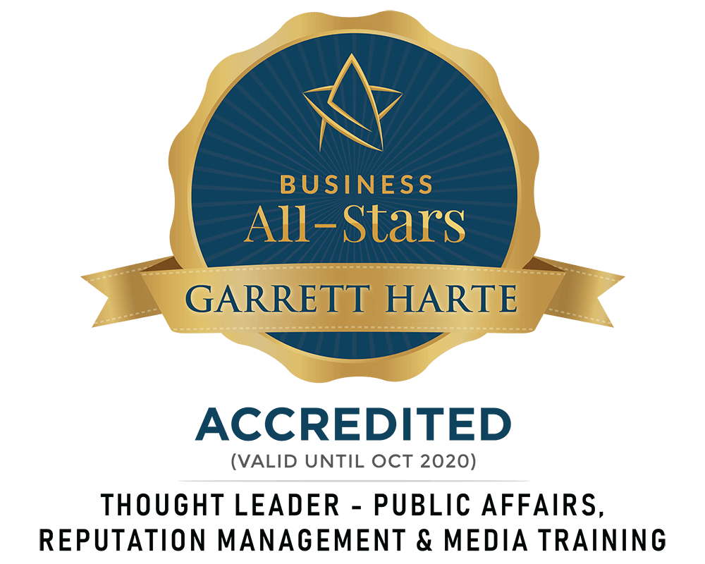 Garrett Harte - Harte Media - Business All-Stars Accreditation