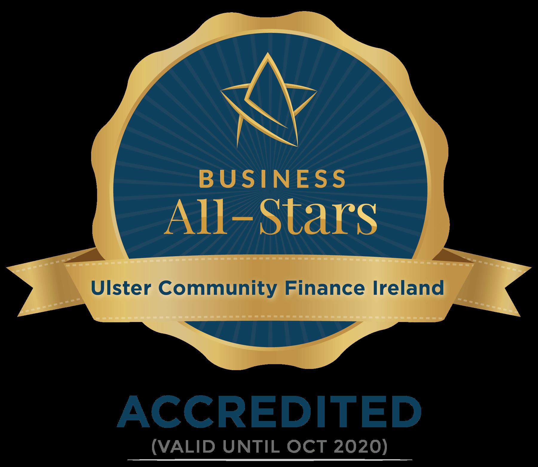 Community Finance Ireland  - Business All-Stars Accreditation
