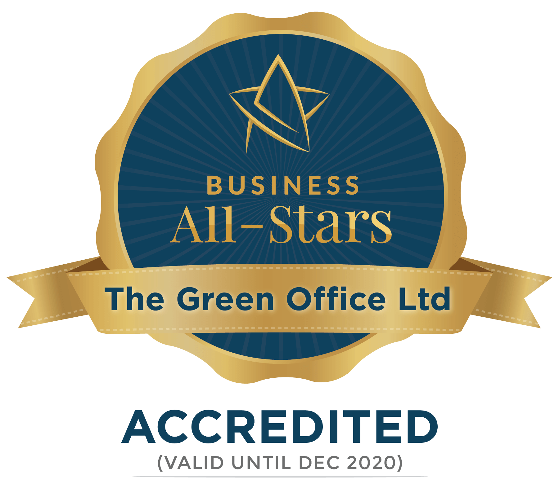 The Green Office Ltd - Business All-Stars Accreditation