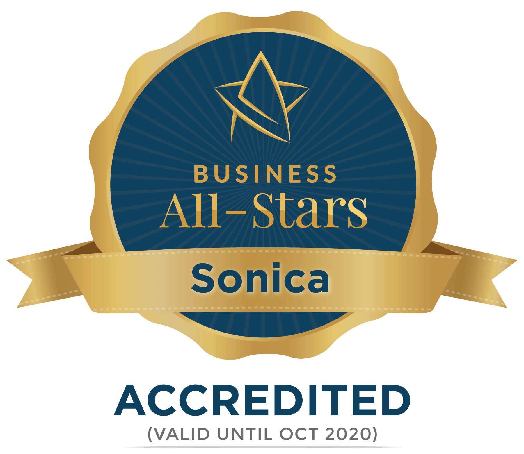 Sonica - Business All-Stars Accreditation