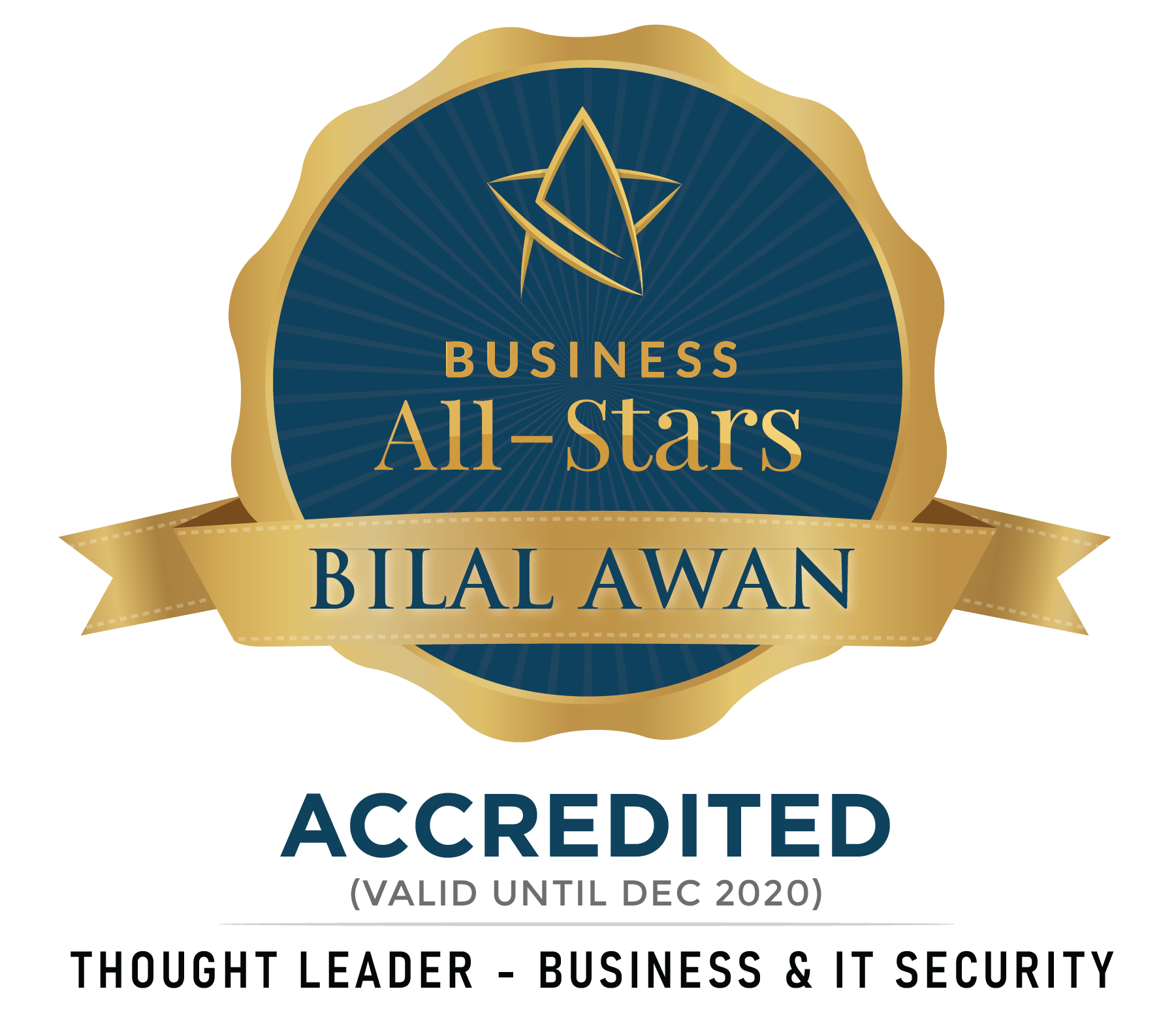 BilalAwan - Fortwell Business Systems - Business All-Stars Accreditation