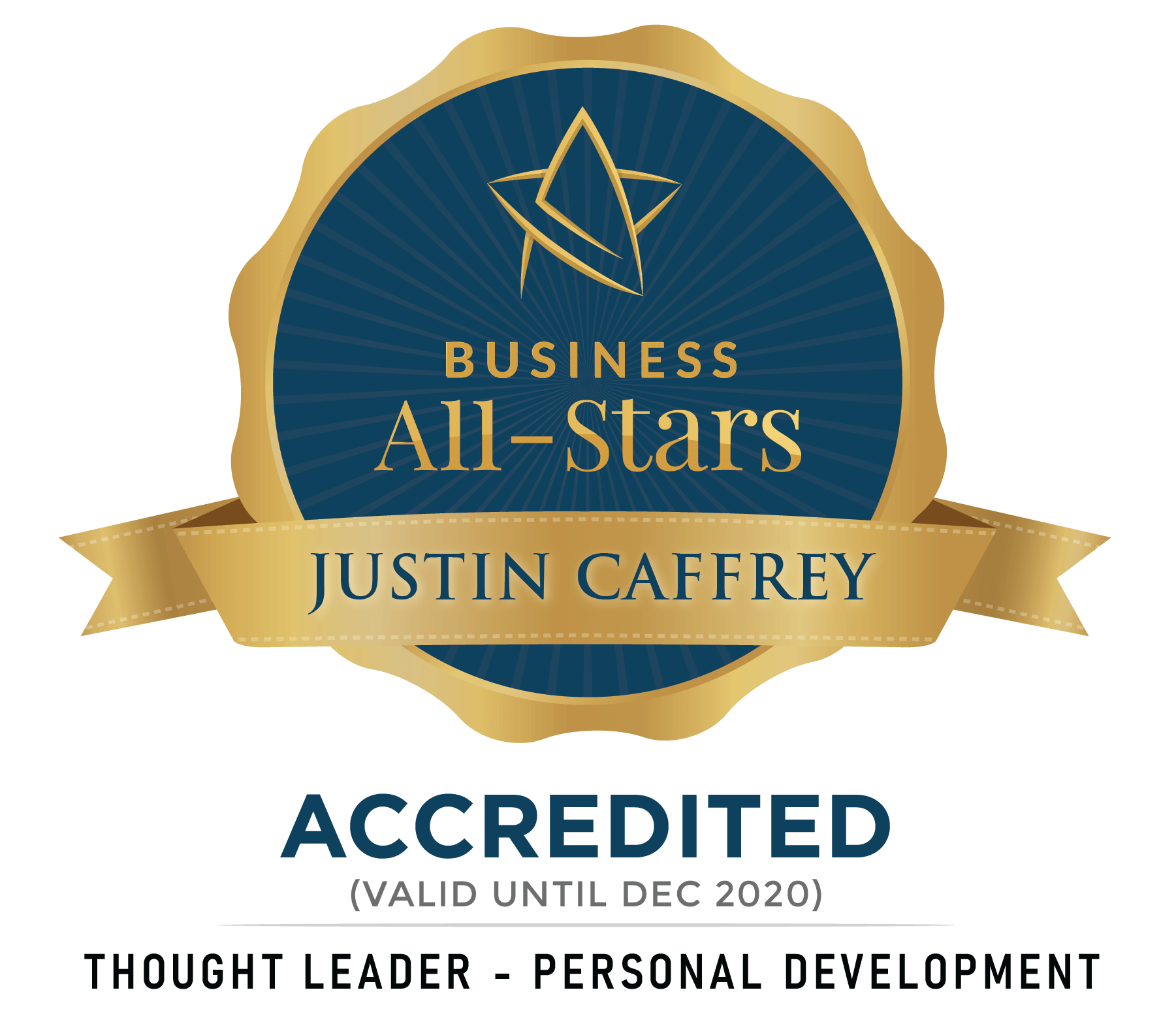 Justin Caffrey - Justin Caffrey Global Ltd - Business All-Stars Accreditation
