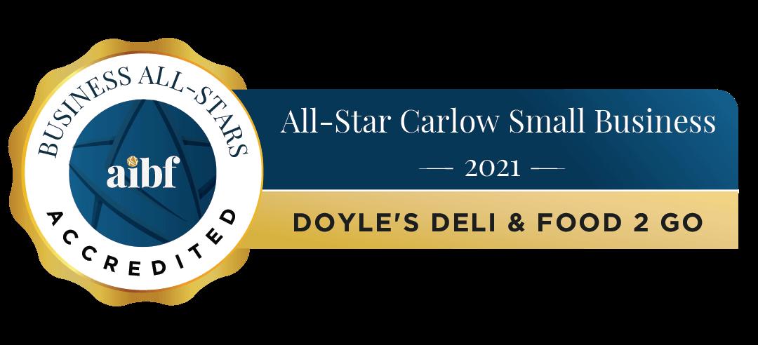 Doyle's Deli & Food 2 Go - Business All-Stars Accreditation