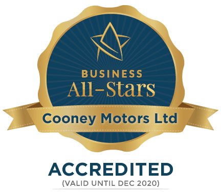 Cooney Motors Ltd - Business All-Stars Accreditation