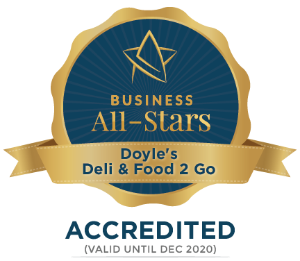 Doyle's Deli & Food 2 Go - Business All-Stars Accreditation
