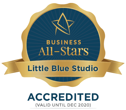 Little Blue Studio - Business All-Stars Accreditation