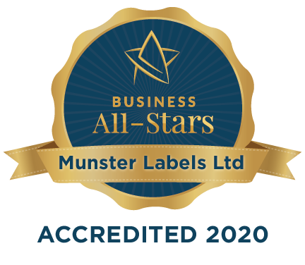 Munster Labels Ltd - Business All-Stars Accreditation