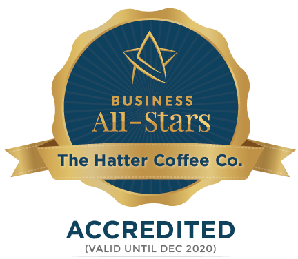 The Hatter Coffee Co. - Business All-Stars Accreditation