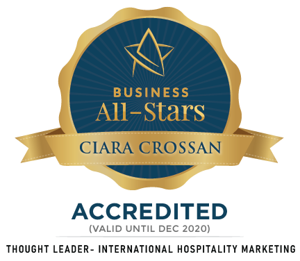 Ciara Crossan - WeddingDates - Business All-Stars Accreditation