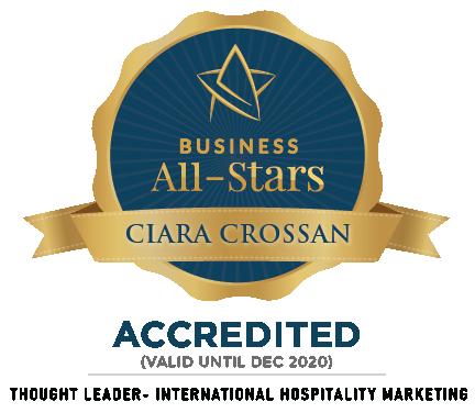 Ciara Crossan - WeddingDates - Business All-Stars Accreditation