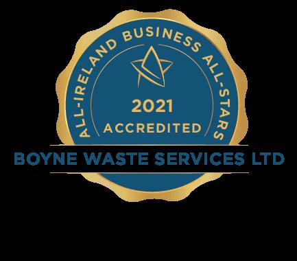 Boyne Waste Services Ltd - Business All-Stars Accreditation