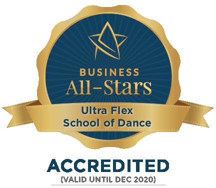 Ultra Flex School of Dance - Business All-Stars Accreditation