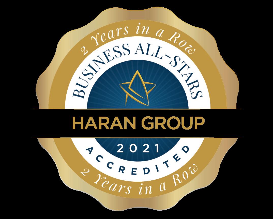 Haran Group - Business All-Stars Accreditation