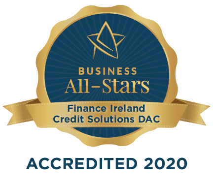 Finance Ireland Credit Solutions DAC - Business All-Stars Accreditation