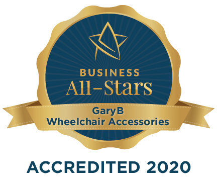 GaryB Wheelchair Accessories - Business All-Stars Accreditation