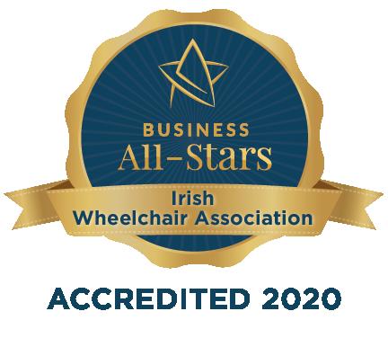 Irish Wheelchair Association - Business All-Stars Accreditation